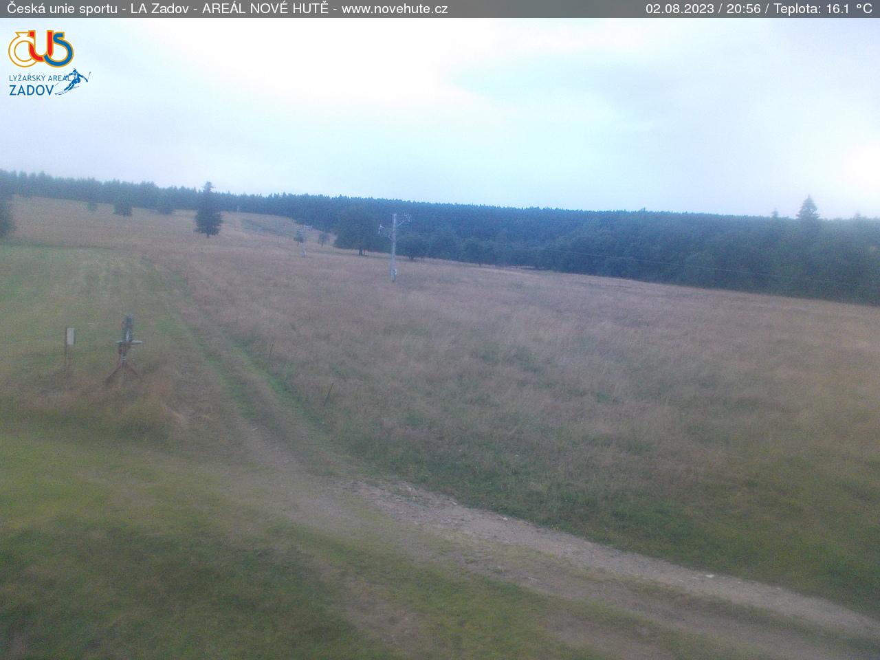 Webcam Ski Resort Zadov - Churanov Nove Hute - Bohemian Forest