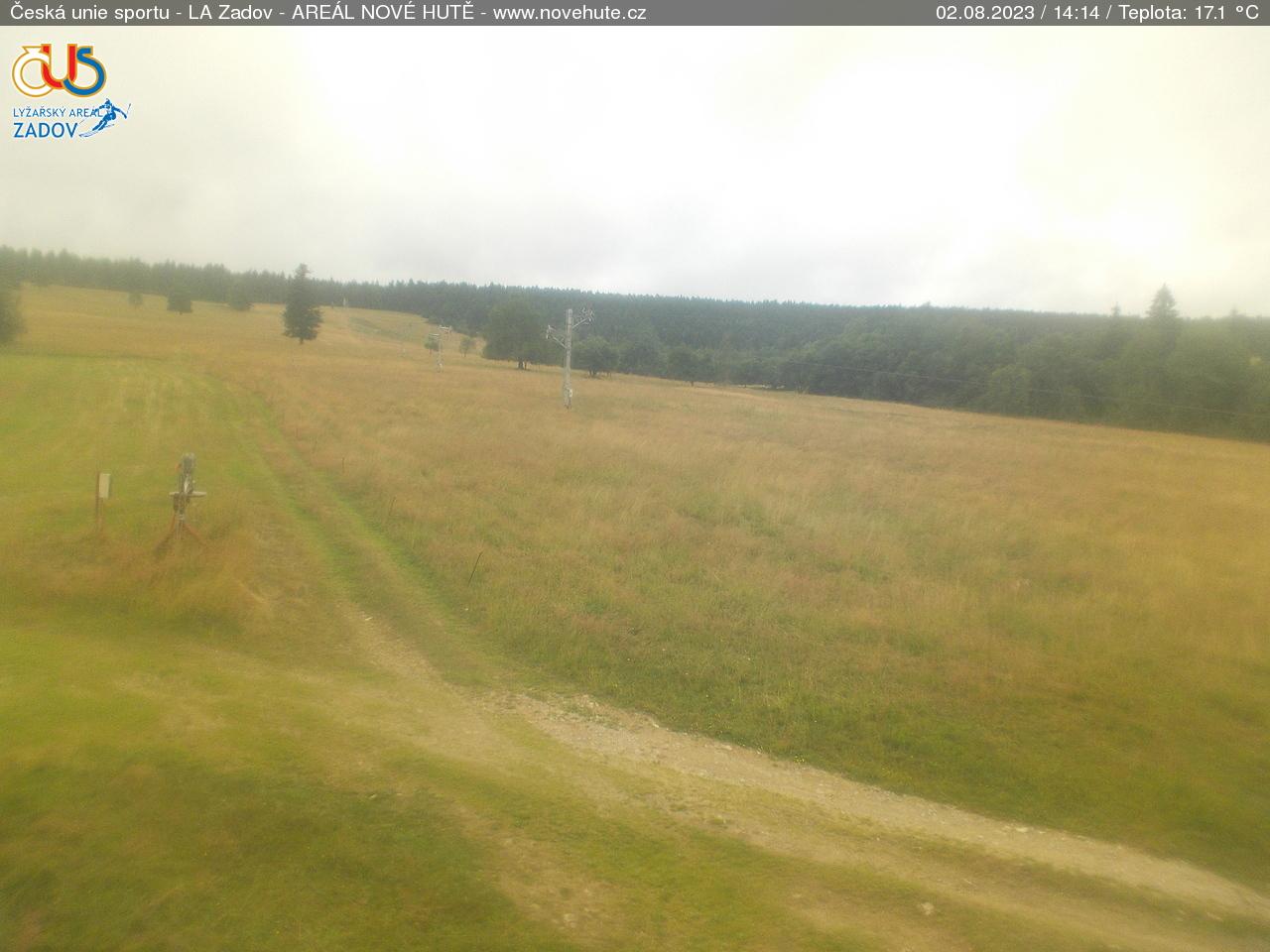 Webcam Skigebiet Zadov - Churanov Nove Hute - Böhmer Wald