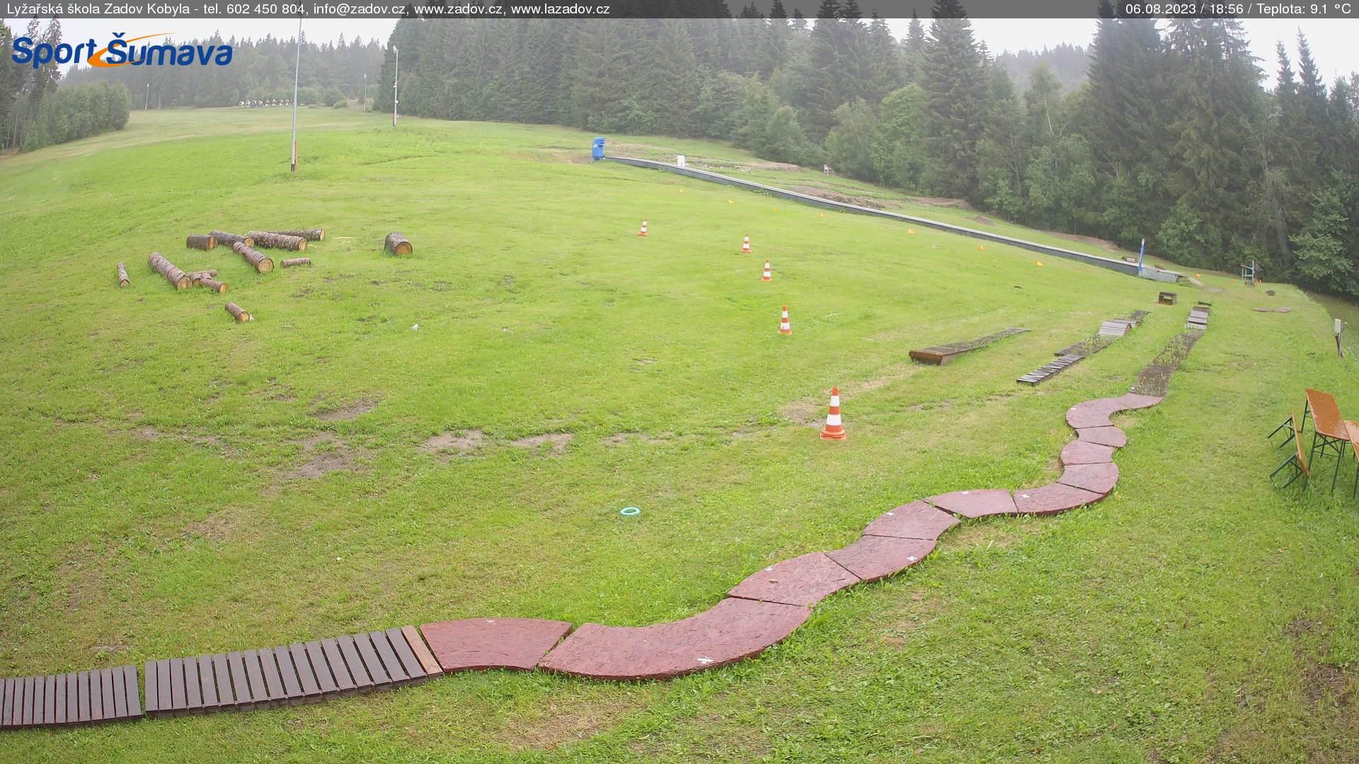 Webcam Skigebiet Zadov - Churanov Skischule - B�hmer Wald