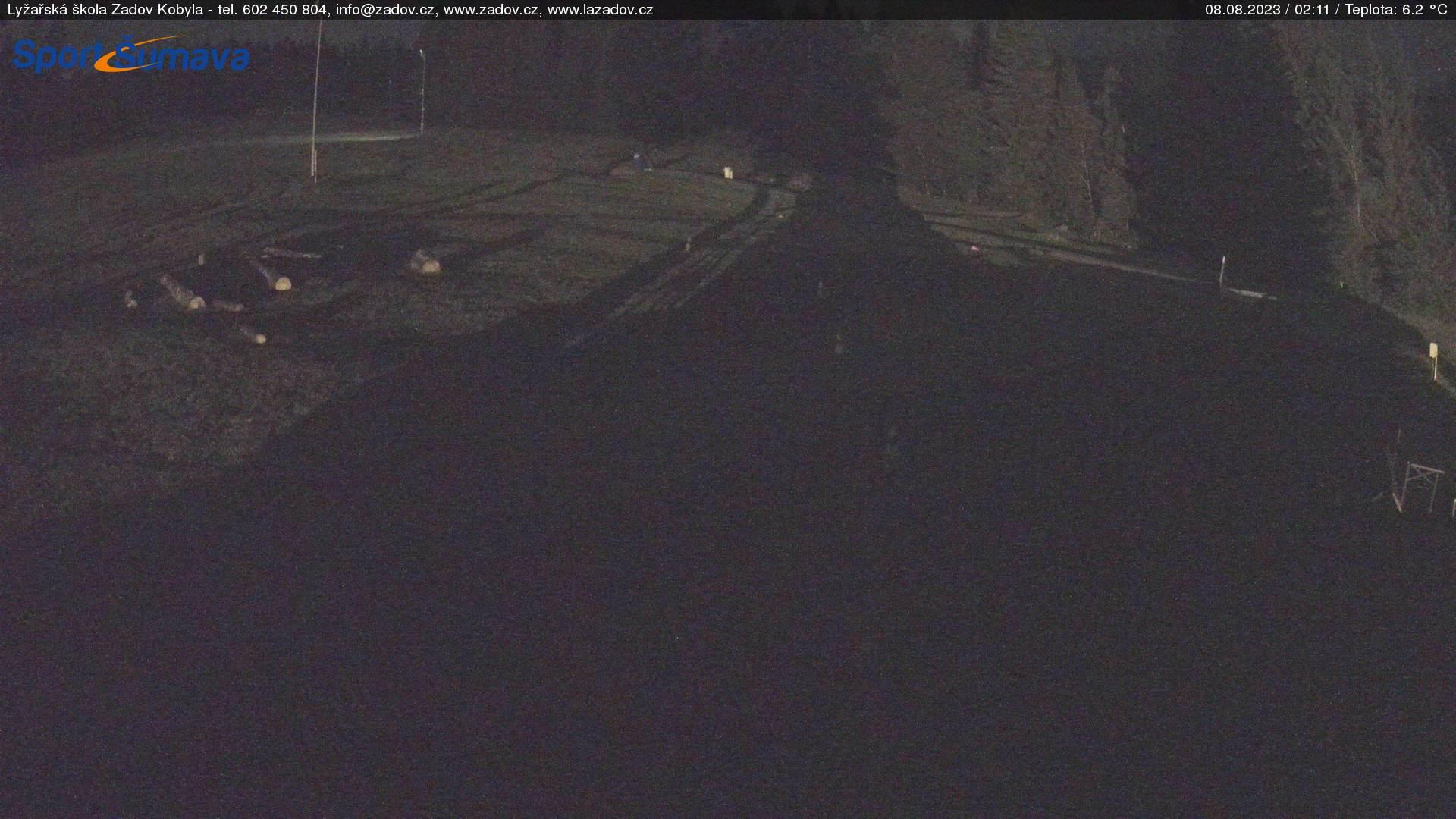 Webcam Skigebiet Zadov - Churanov Böhmer Wald