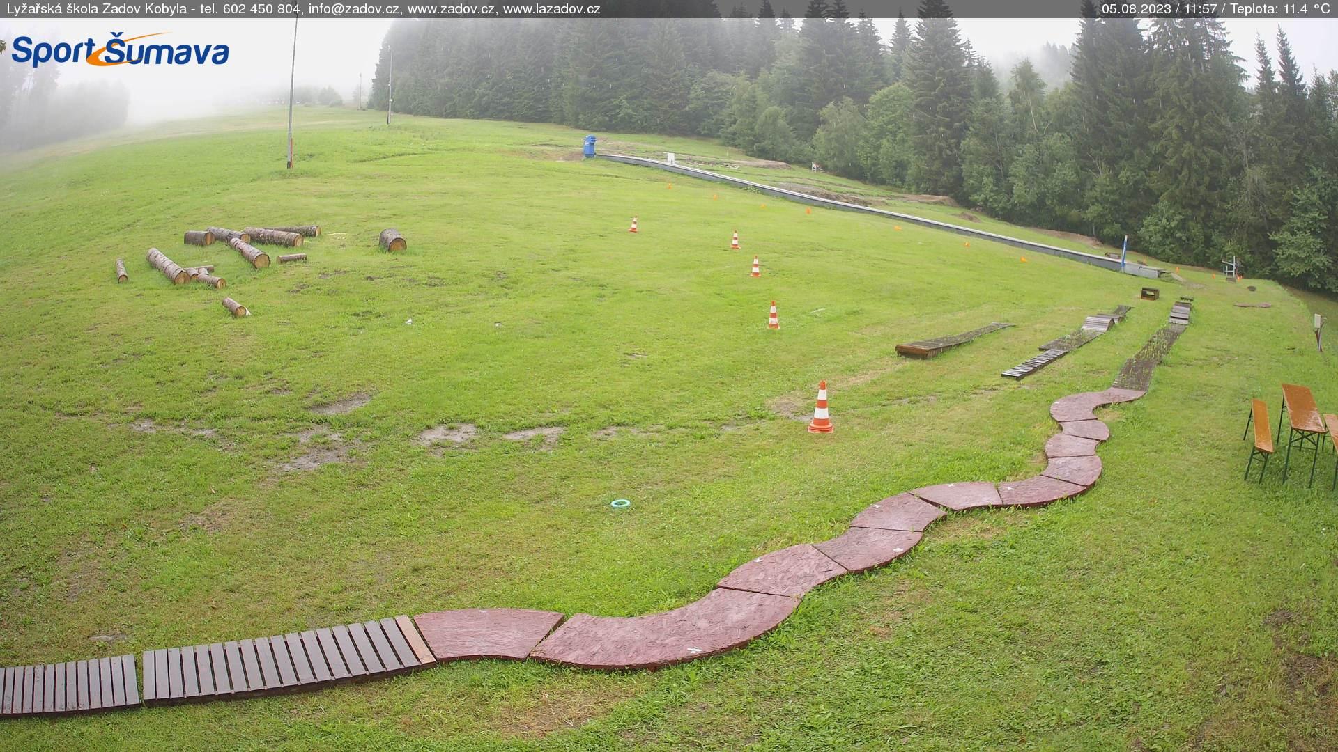 Webcam Skigebiet Zadov - Churanov Skischule - Böhmer Wald