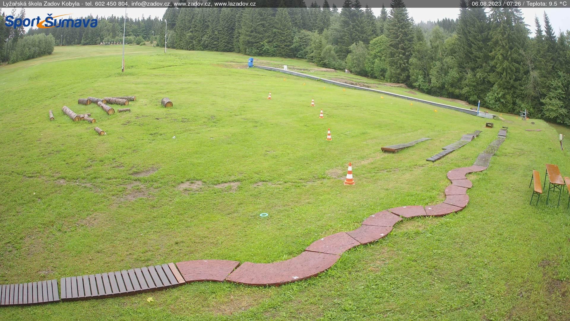 Webcam Skigebied Zadov - Churanov Skischule - Bohemer Woud