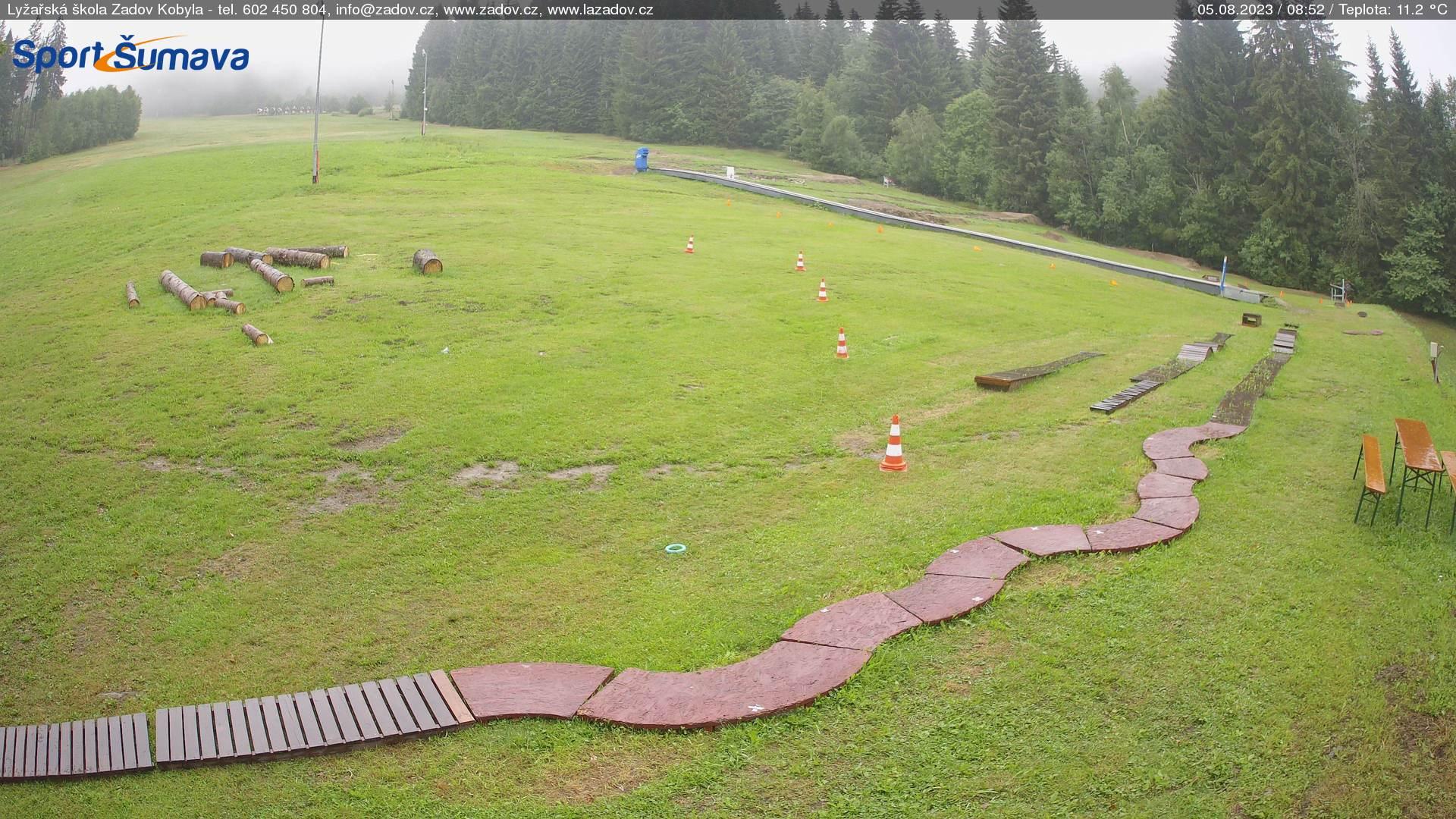 Webcam Ski Resort Zadov - Churanov Skischule - Bohemian Forest